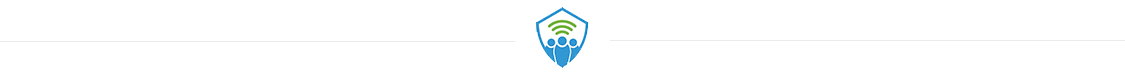 horizontal rule with TeamAlert shield logo in the middle